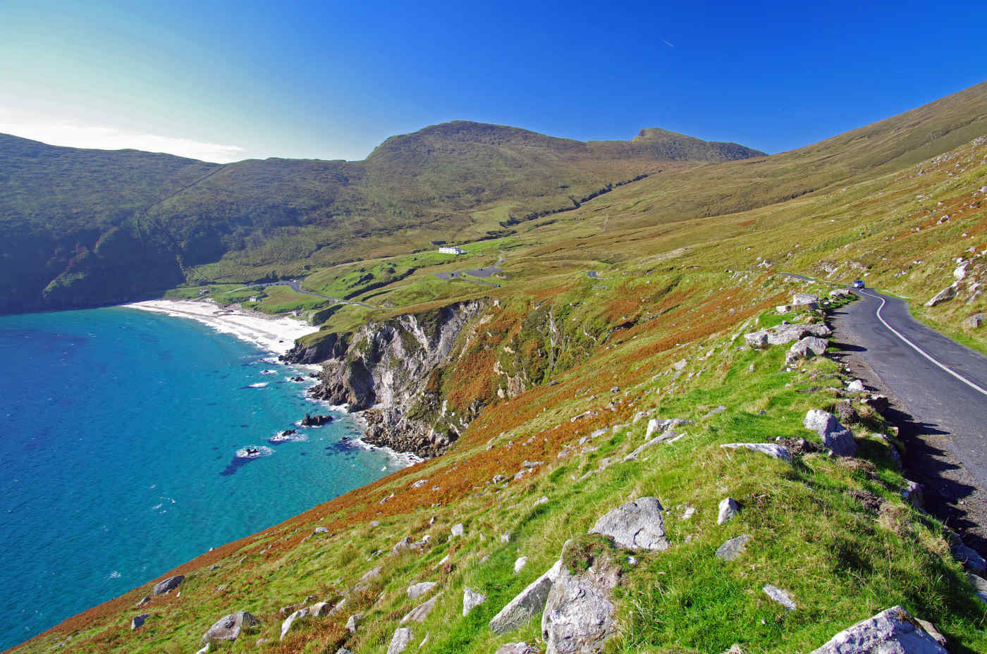 Achill Island in County Mayo, Ireland