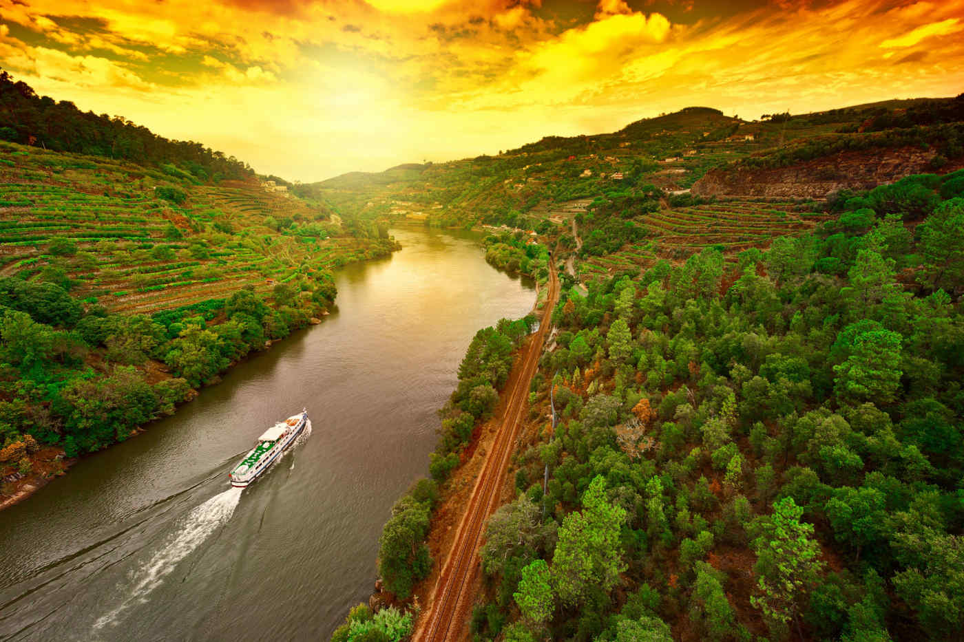Douro River, Douro Valley, Portugal