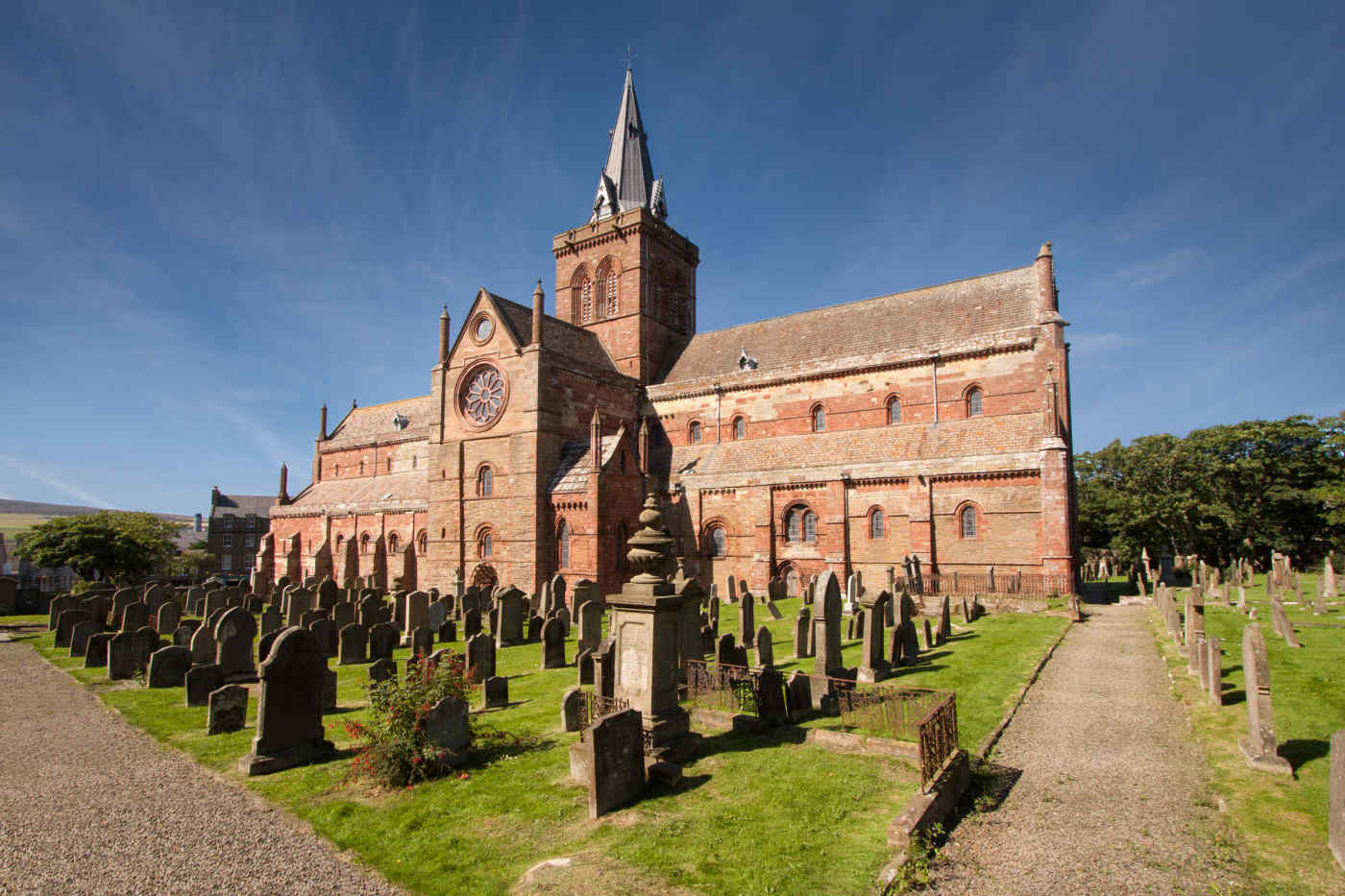 St Magnus Cathedral in Kirkwall, Scotland