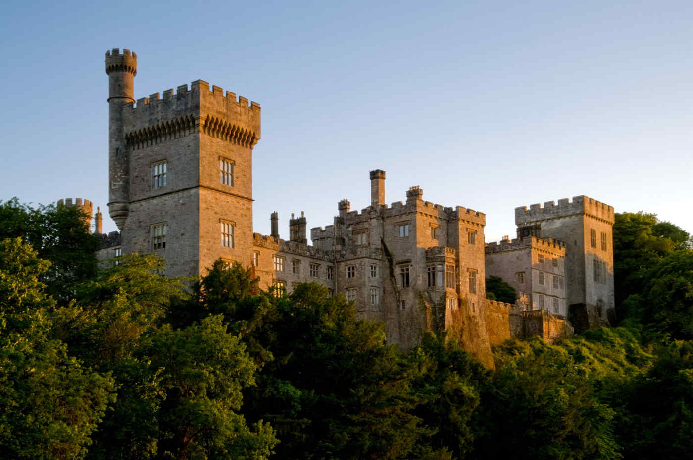 Lismore Castle at Waterford, Ireland
