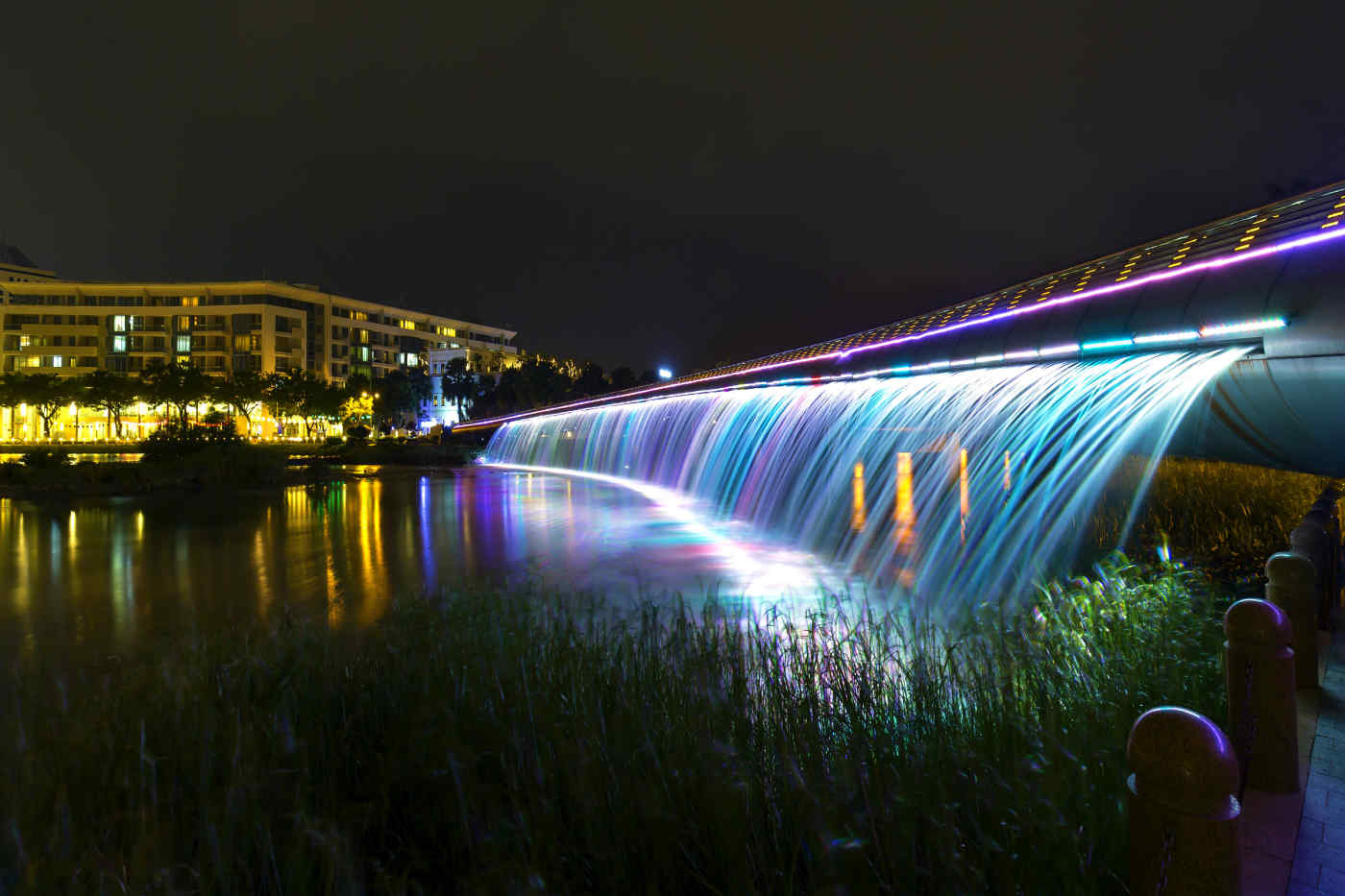 Starlight Bridge in Saigon, Vietnam