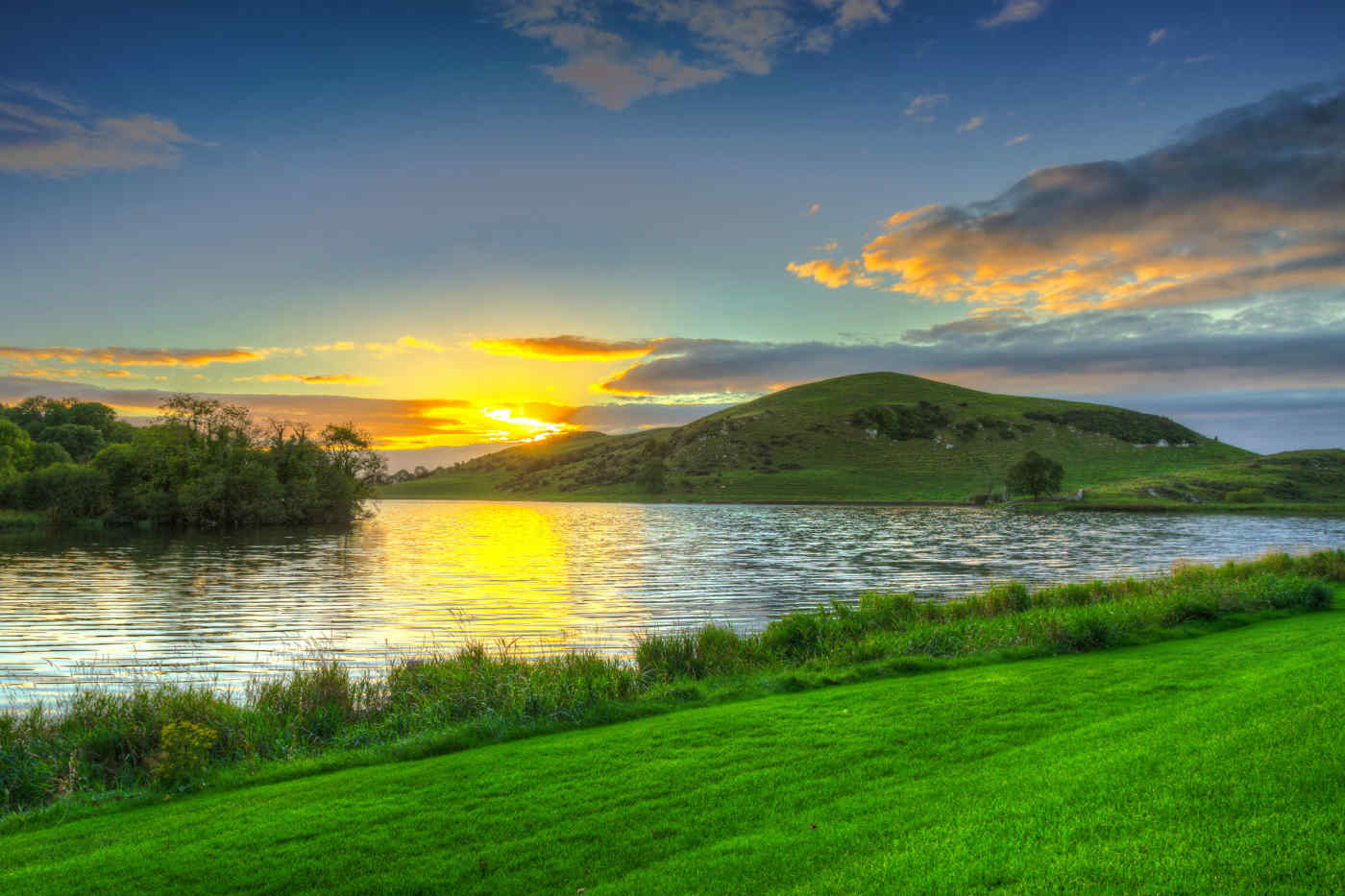 Lough Gur in County Limerick