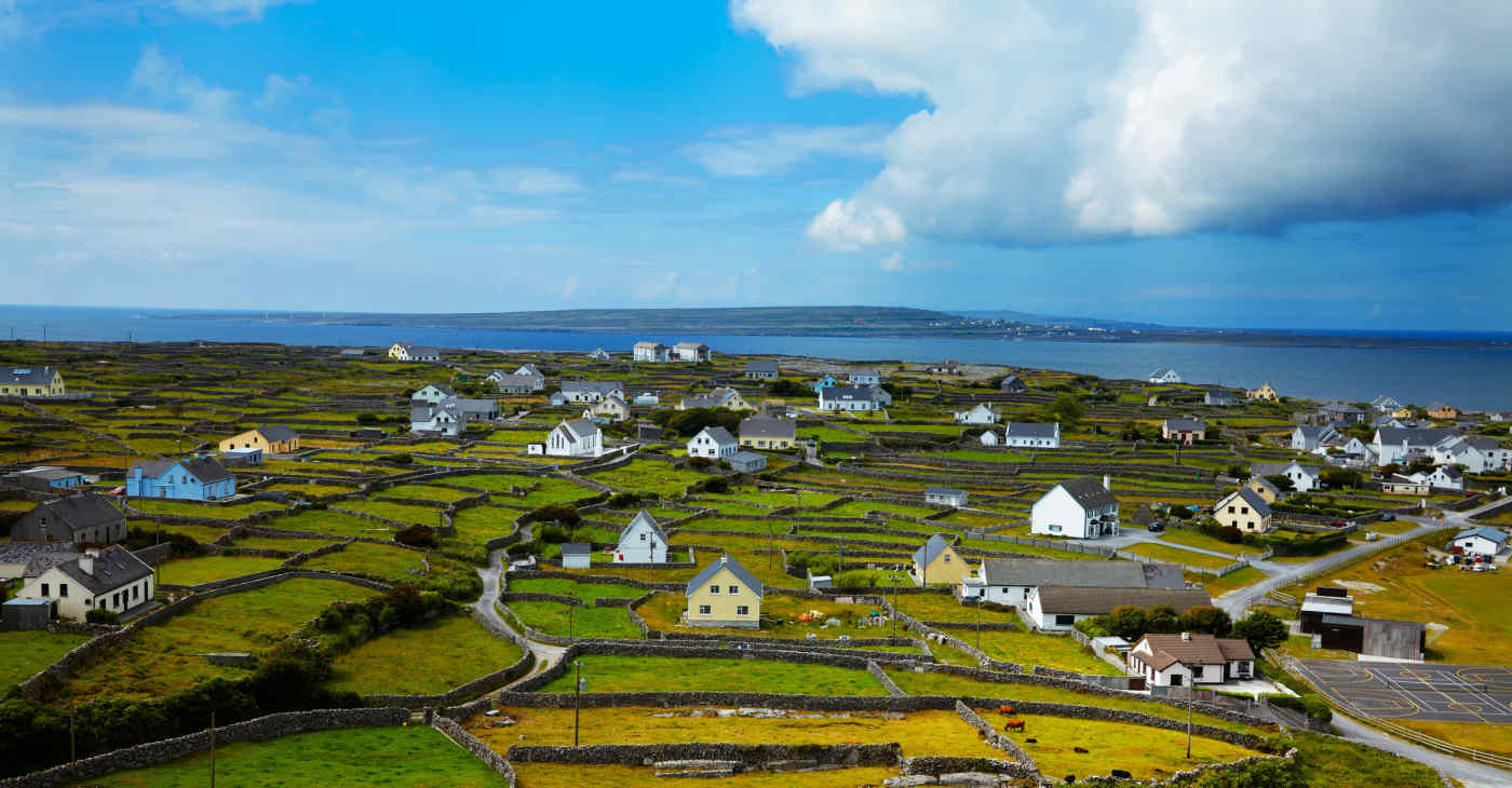 Inisheer Island in Aran Islands, Ireland