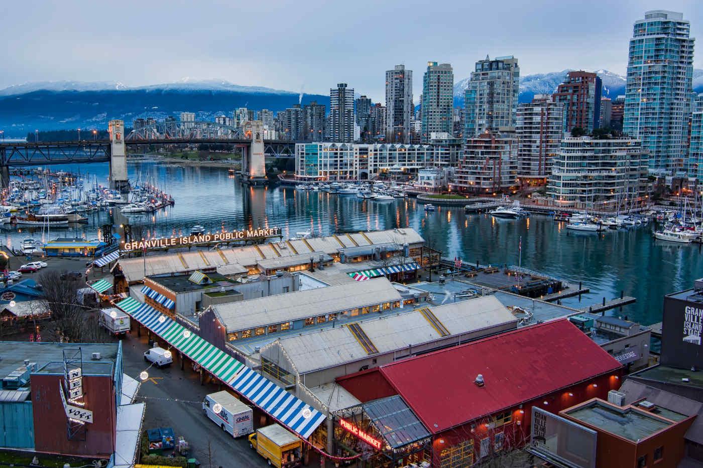 Granville Public Market, Vancouver