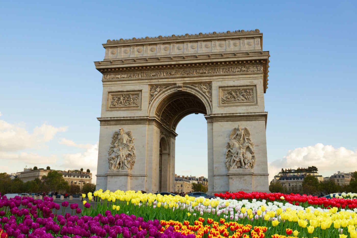 Arc de Trimophe, Paris, France