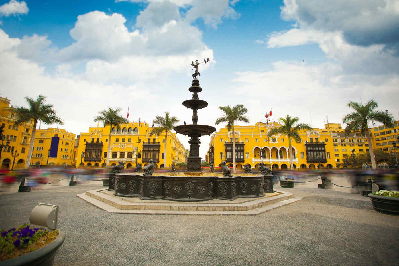 Plaza Mayor in Lima, Peru