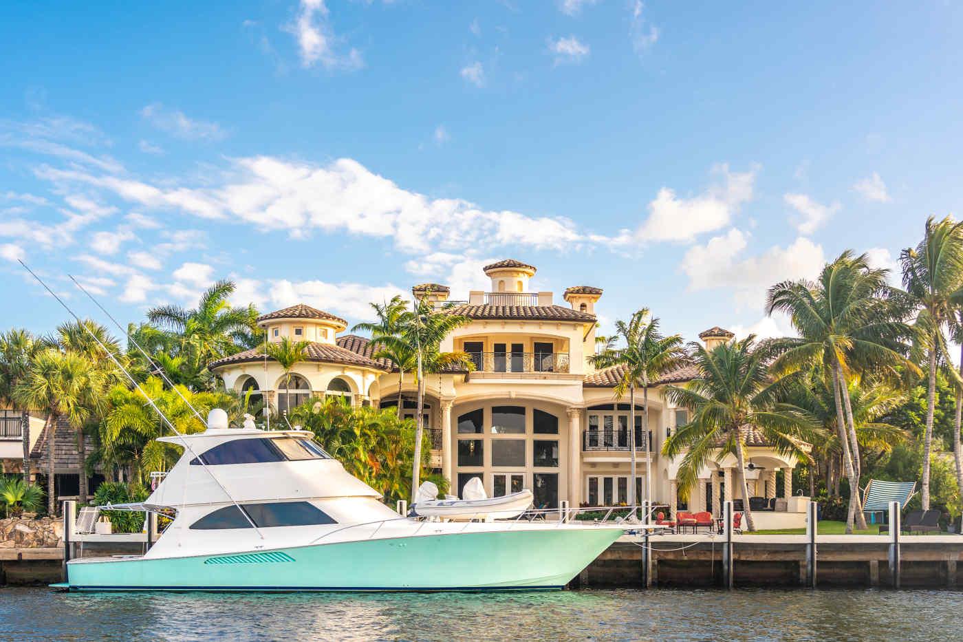 Luxury Waterfront Mansion