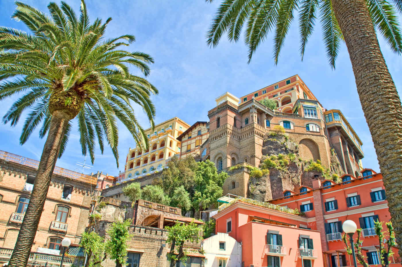 Historic Hotels in Sorrento, Italy