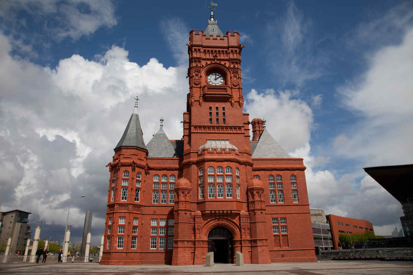 Pierhead Building, Cardiff, Wales