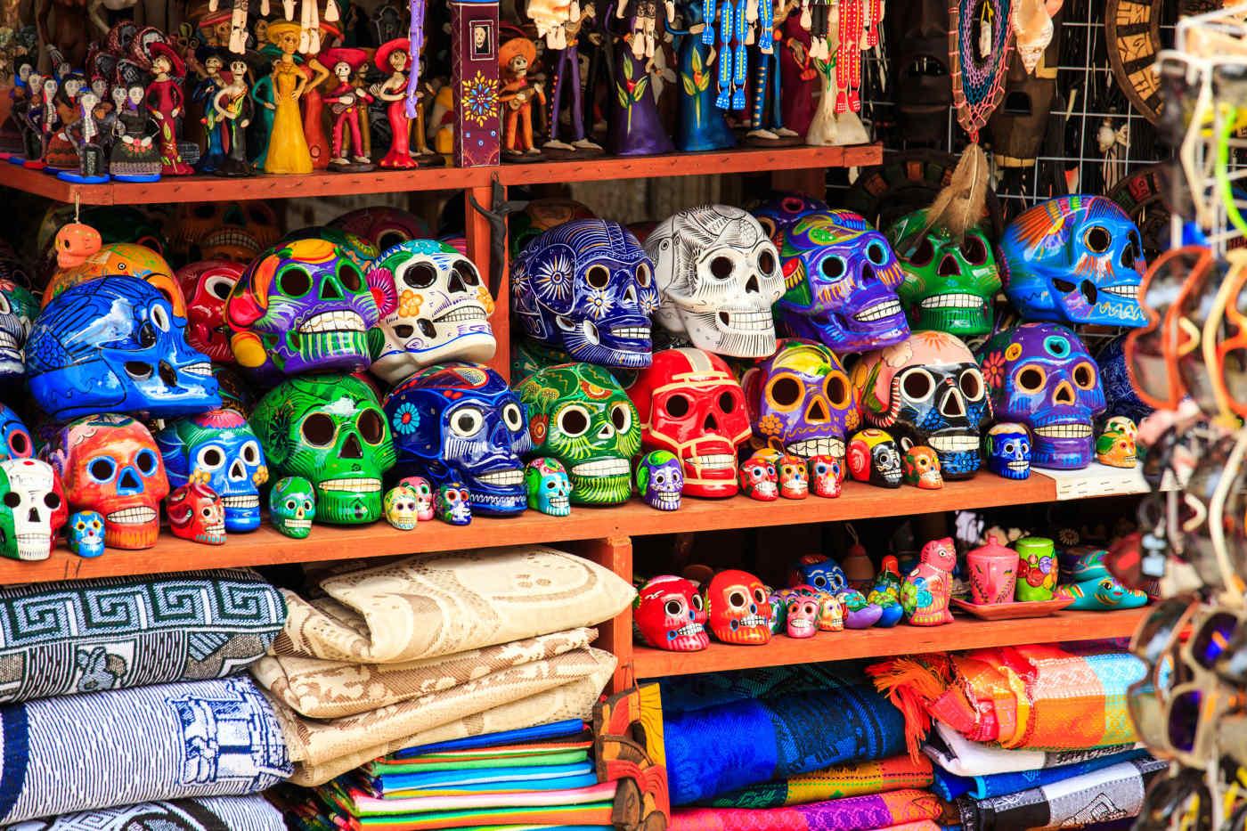 Souvenirs along La Quinta Avenida
