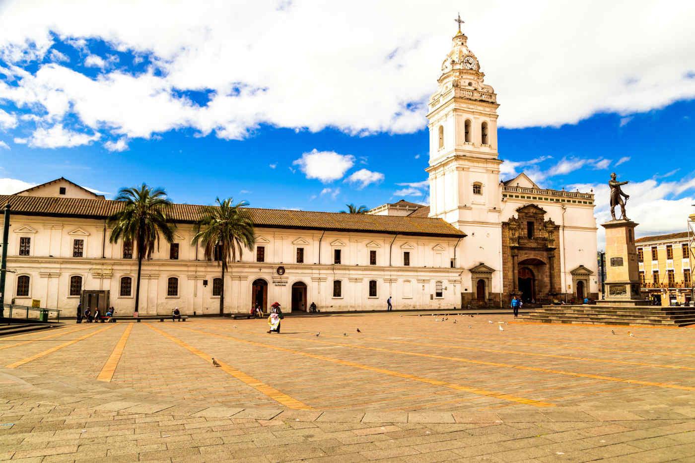 Plaza Santo Domingo in Quito