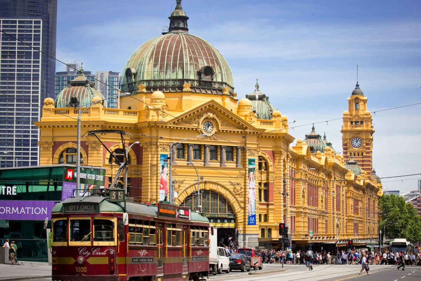 Flinders Street Station • Melbourne, Australia