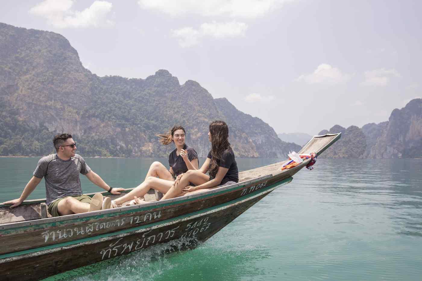 Long Tail Boat in Ao Nang, Thailand