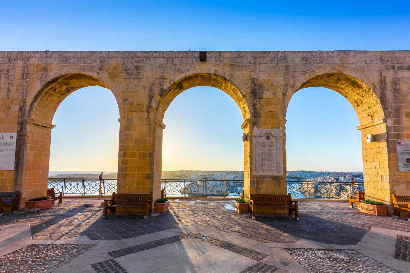 Upper Barrakka Gardens • Valletta, Malta