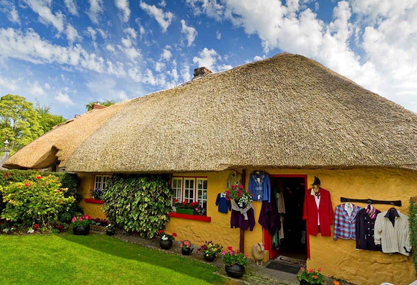 Traditional Irish Cottage in Adare, Ireland