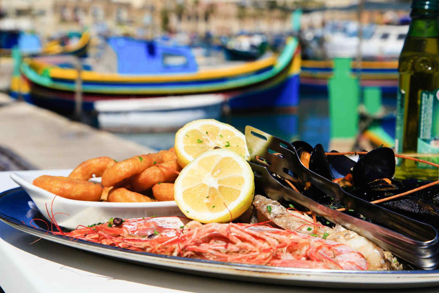 Maltese seafood
