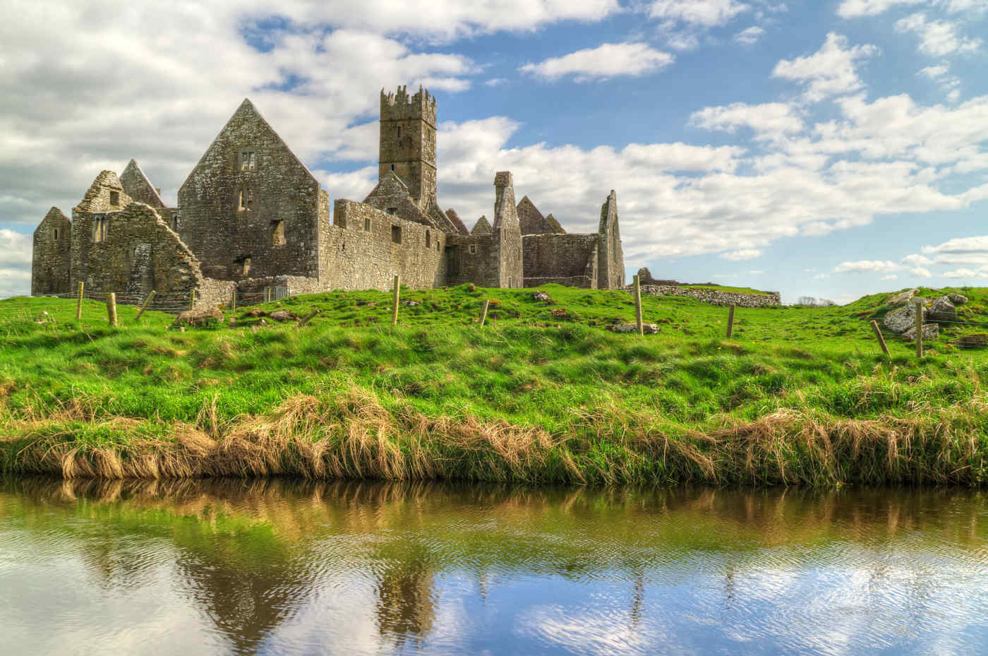 Ross Errilly Friary in Galway