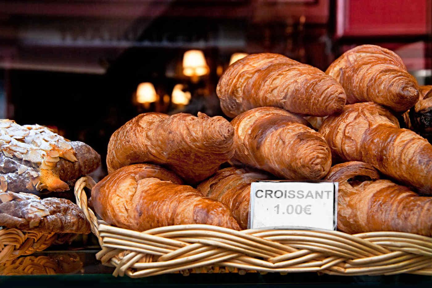 Croissants in Paris, France