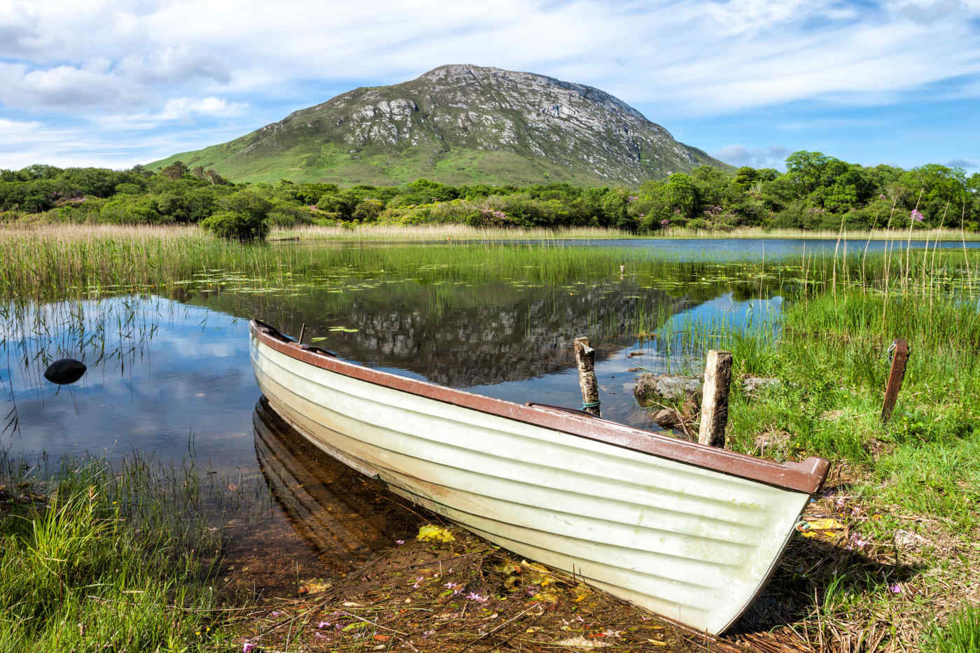 Connemara National Park in County Galway, Ireland