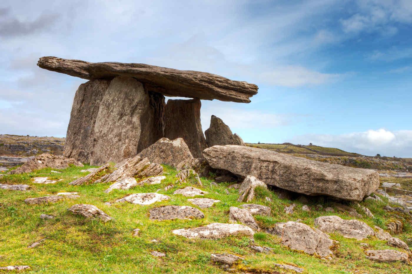 The Burren in County Clare, Ireland