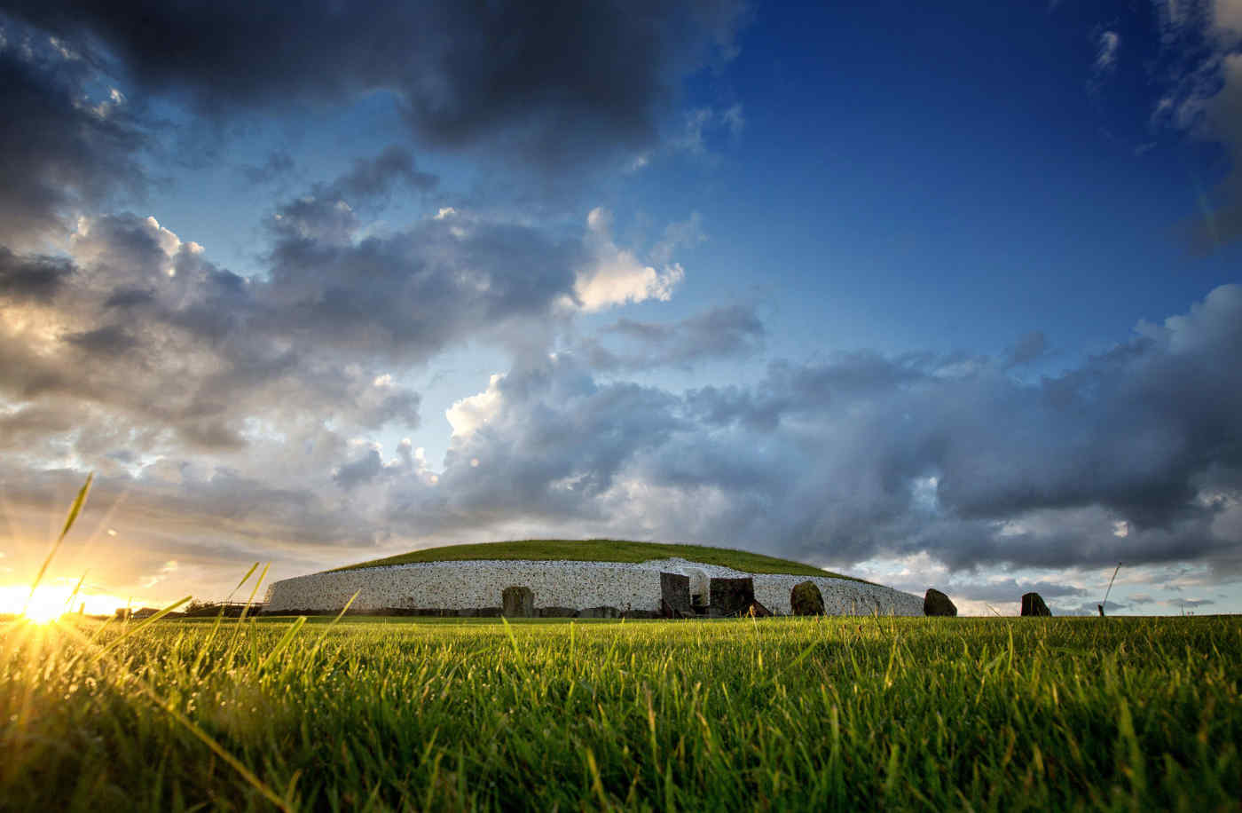 Newgrange in County Meath, Ireland