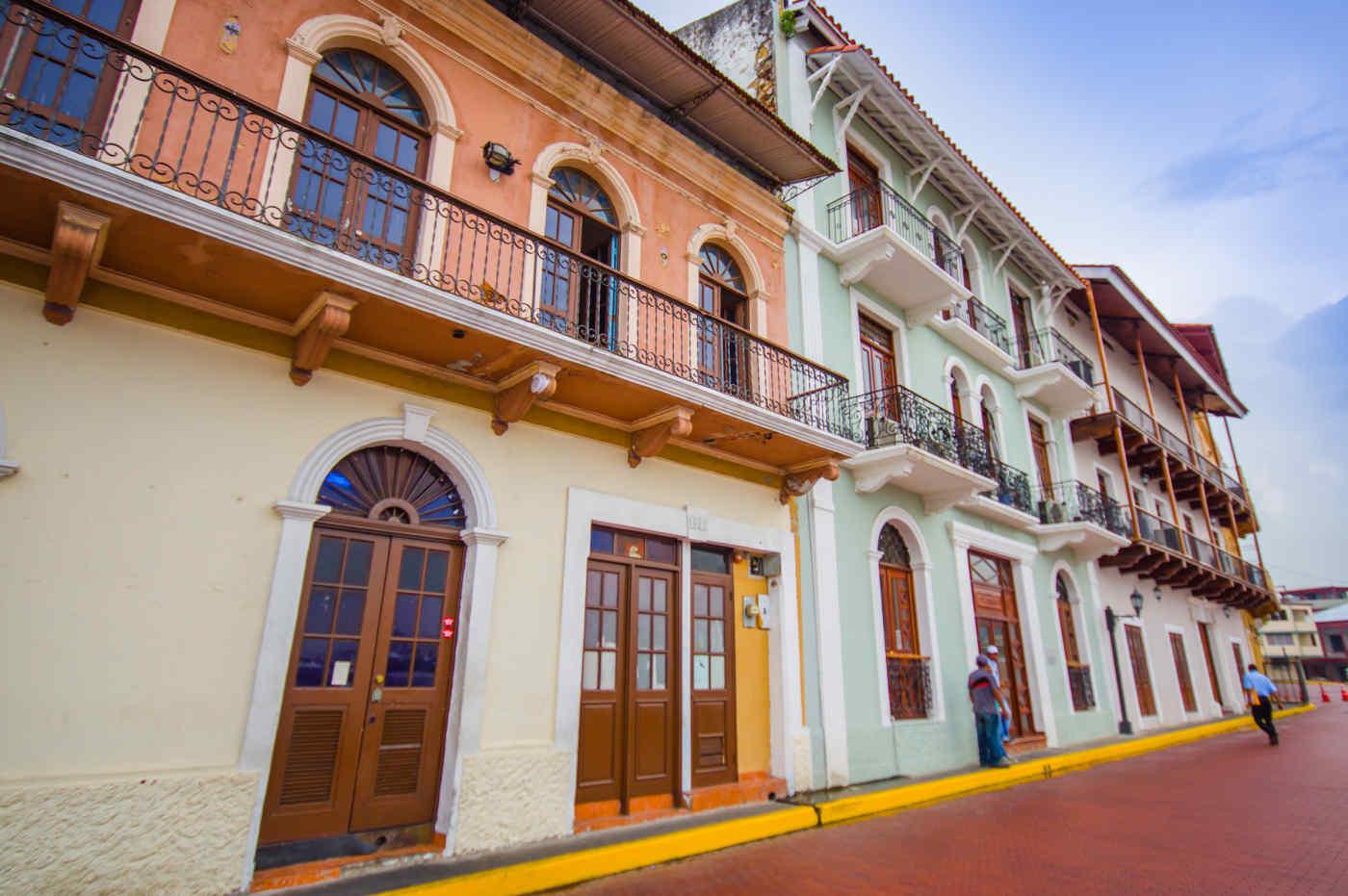 Casco Viejo, the Old Town in Panama City, Panama