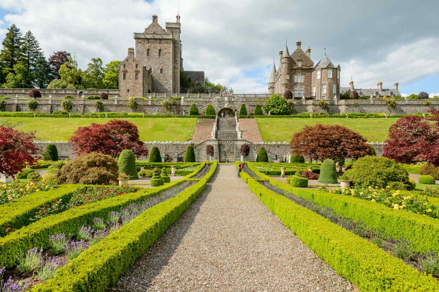 Drummond Castle, Perthshire, Scotland