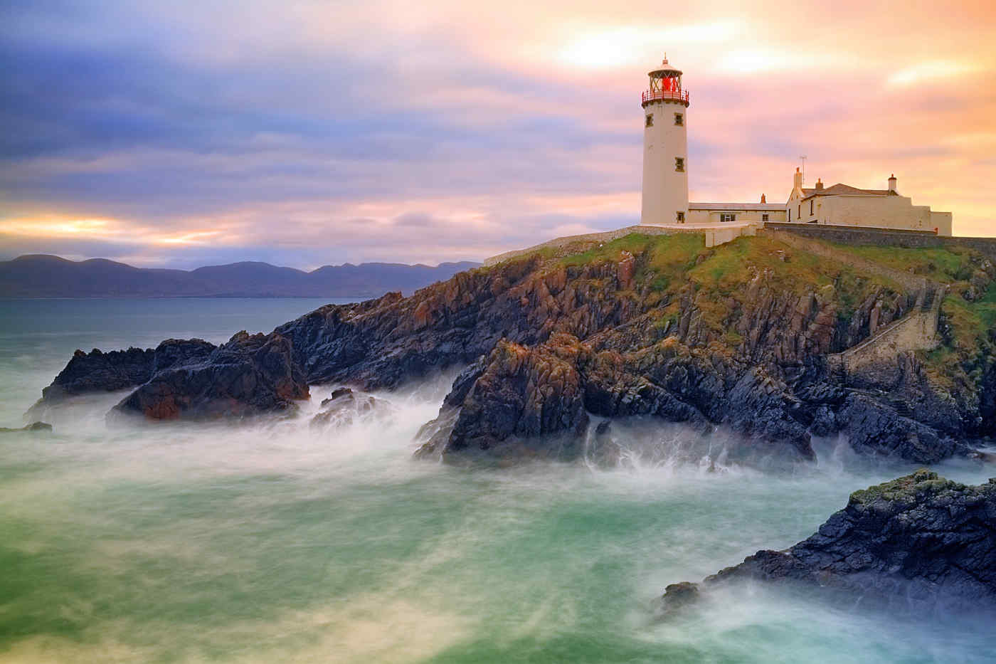 Fanad Lighthouse in Donegal, Ireland