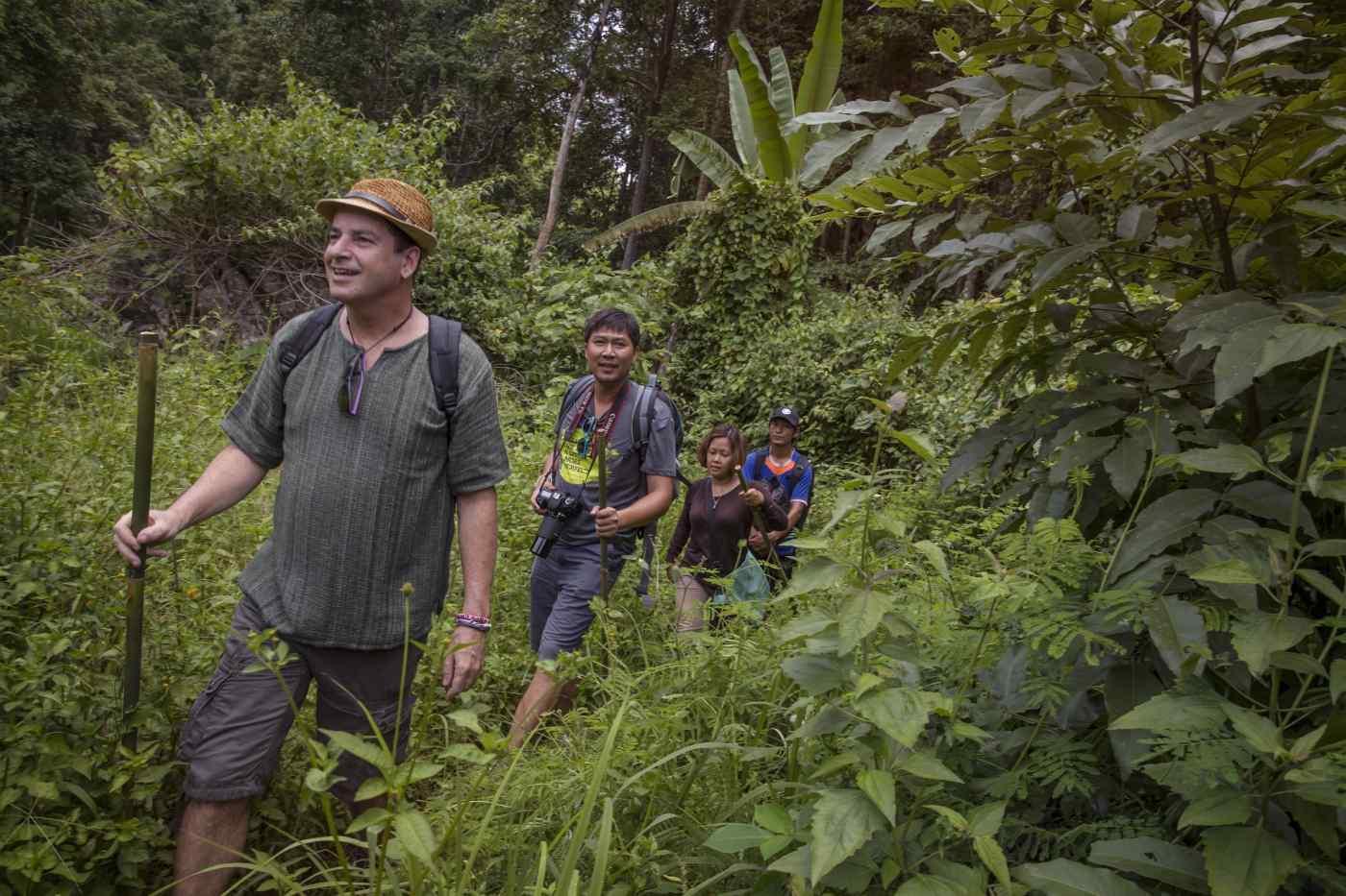 Trekking through Thailand