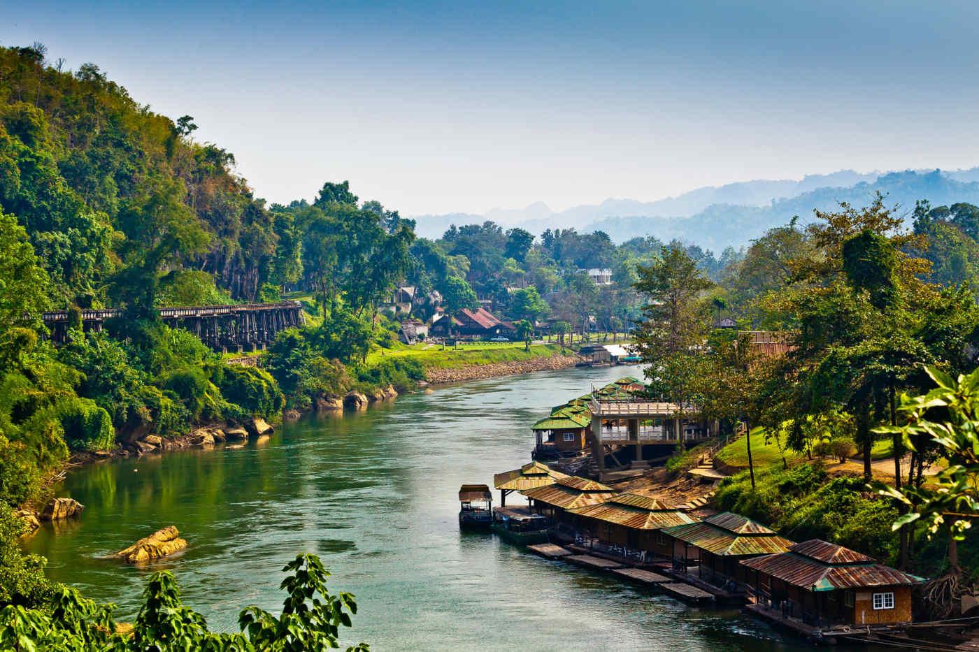 River Kwai, Thailand