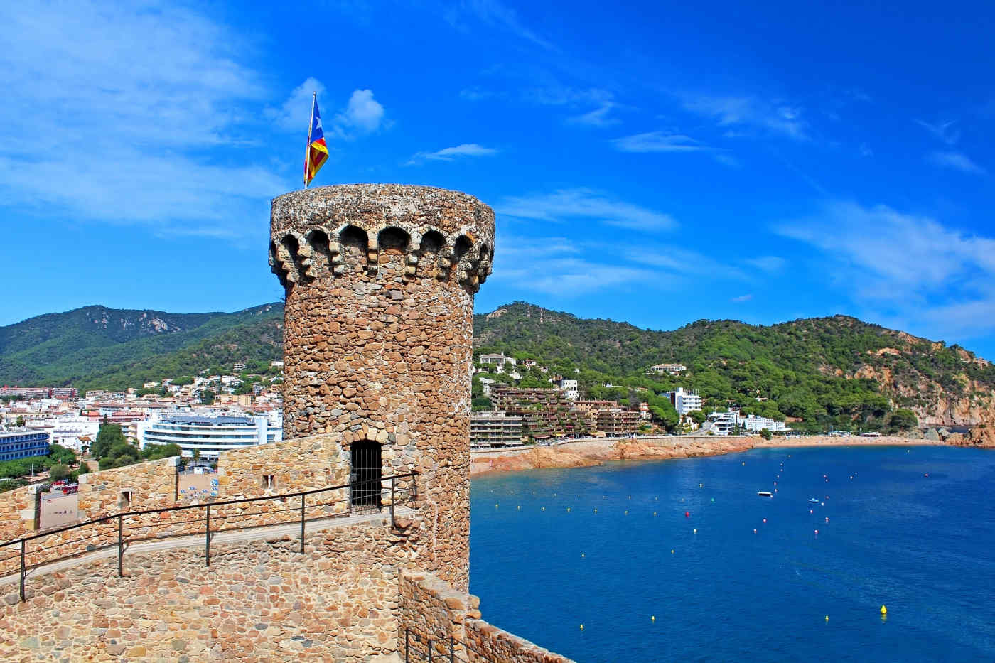 Castillo de Tossa de Mar, Spain