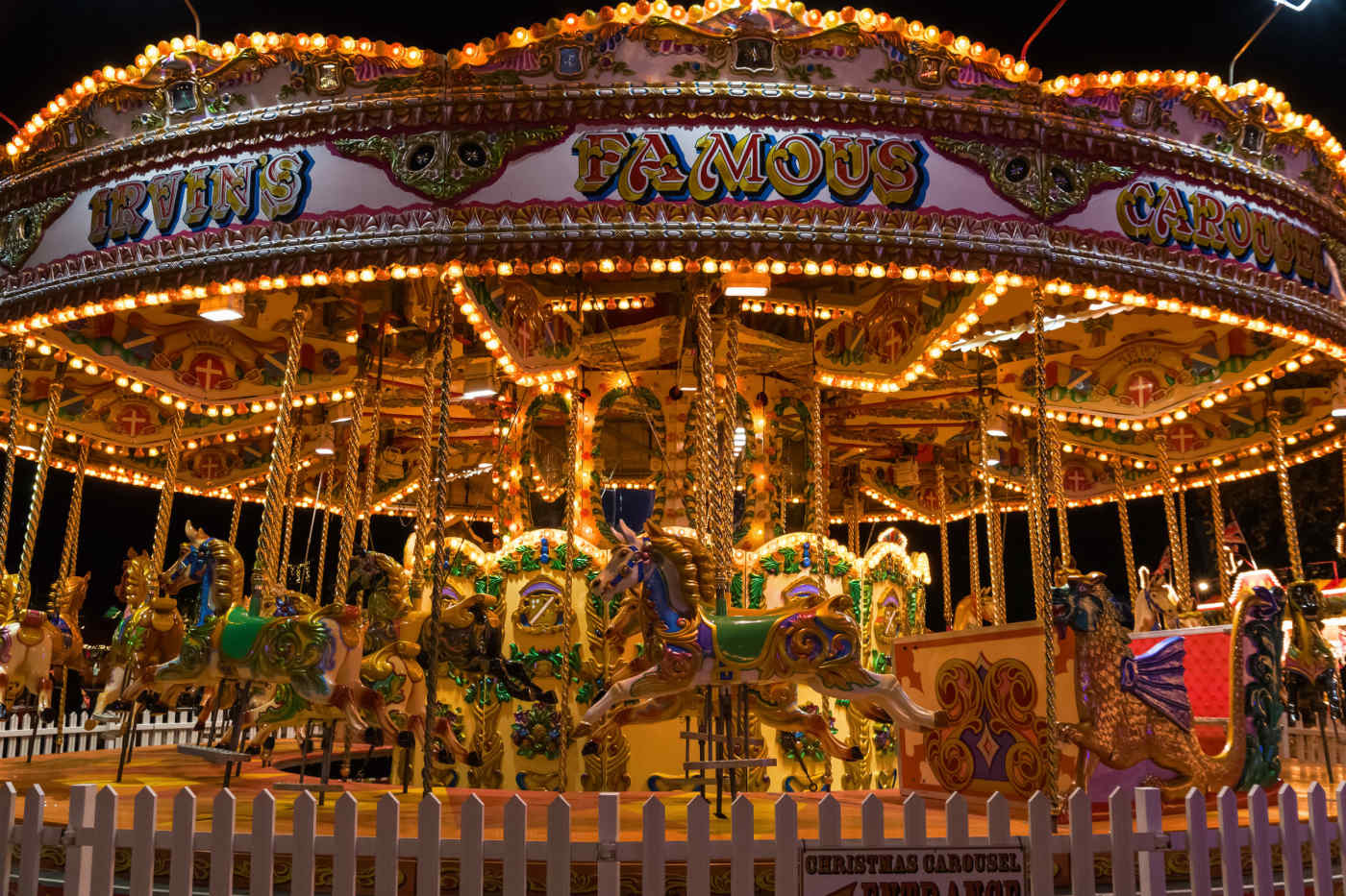 Winter Wonderland Merry-Go-Round