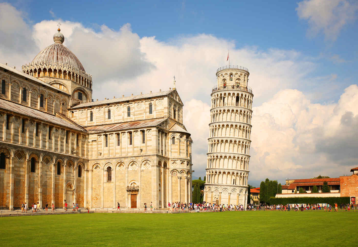 Leaning Tower of Pisa in Pisa
