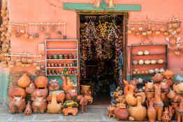 Pottery in Raquira