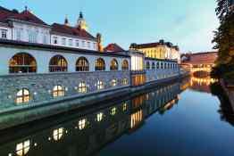 Ljubljanica River and Central Market