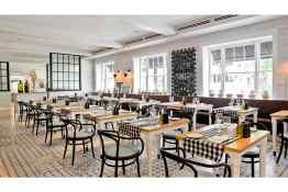 Kimpton Brice Hotel Pacci Dining Room