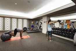 The Embassy Row Hotel Fitness Center