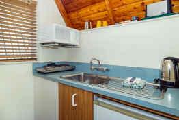 Mountain Chalet Twizel • Kitchen