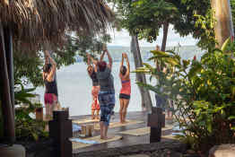 Jicaro Island Lodge • Yoga