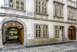 Mozart House in Vienna, Austria