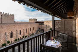 Hotel Parador de Sigüenza • Terrace