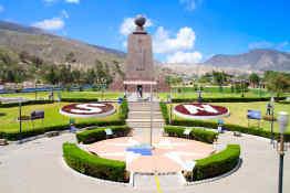 Equatorial Line Monument in Quito