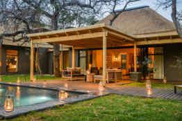 Tinga Lodge • Hi'Nkweni Villa Exterior