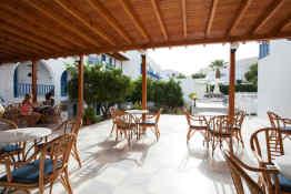 Polos Hotel Paros • Breakfast Area