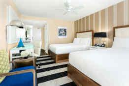 Hilton Cabana Miami Beach, Cabana Tower Guestroom