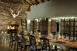 Tinga Lodge • Indoor Dining