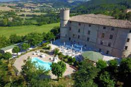 Castello di Baccaresca - Aerial View