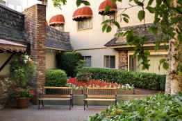 Royal Scot Hotel & Suites • Courtyard