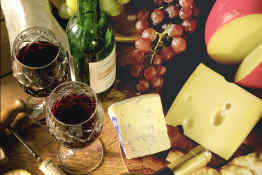 Paris Wine & Cheese Tasting