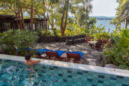 Jicaro Island Lodge • Pool